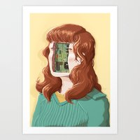 PCB Art Print