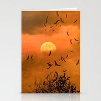 Samhain Contemplative -- Trick or Treat Smell My Feet Stationery Cards