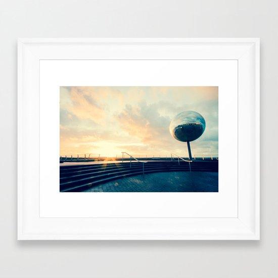 GlitterBall II Framed Art Print