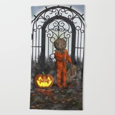 Trick R Treat Beach Towel