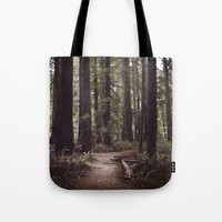 Redwood Forest Tote Bag