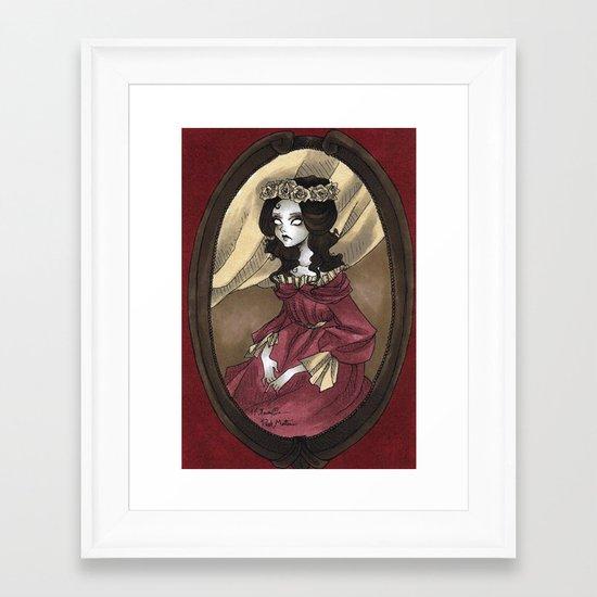 Post Mortem Framed Art Print