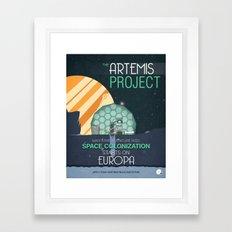 The Artemis Project Framed Art Print