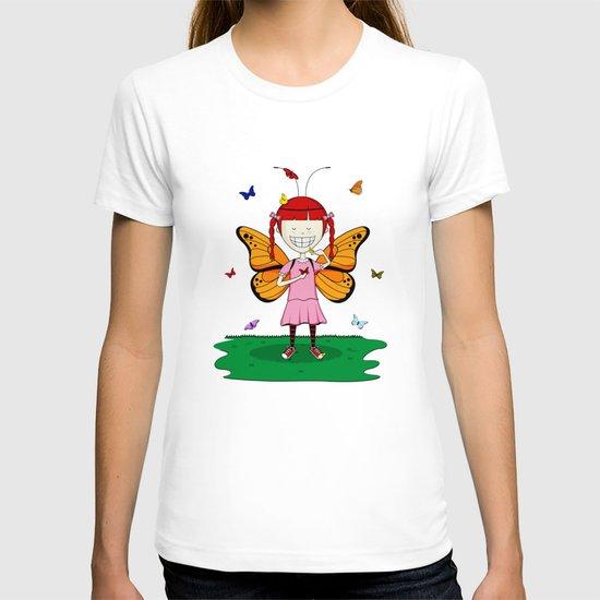 i heart butterflies T-shirt