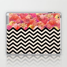 Chevron Flora Laptop & iPad Skin
