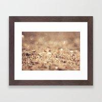 A Little Dirt Never Hurt Framed Art Print