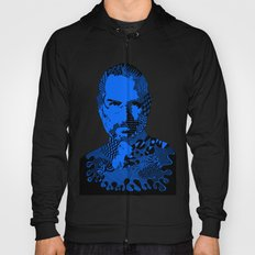 Steve Jobs Blue Hoody
