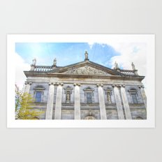 The Cathedral, Waterford City Art Print