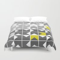About Face Duvet Cover