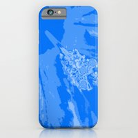 iPhone & iPod Case featuring Intimate blue by Keren Shiker