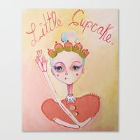 The Littlest Cupcake  Canvas Print