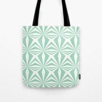 Mint Starburst #3 Tote Bag