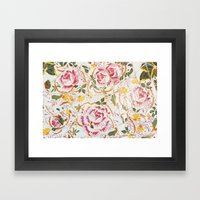 Tiling with pattern 7 Framed Art Print