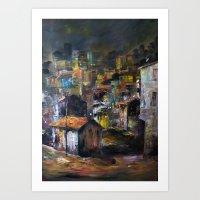 Fikirtepe-İstanbul Art Print