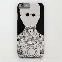 iPhone & iPod Case featuring the illustrated man - bradbury by miles to go