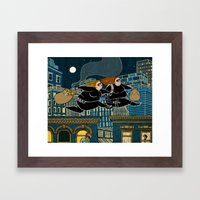 Thick as Thieves Framed Art Print