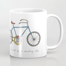 bicycle powered by a shooting star Mug