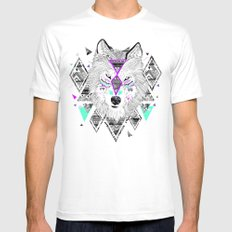 HONIAHAKA by Kyle Naylor and Kris Tate Mens Fitted Tee White SMALL