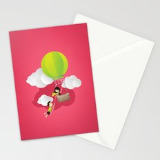 for the adventure of love Stationery Cards