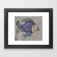 Pececitos Color! II Framed Art Print