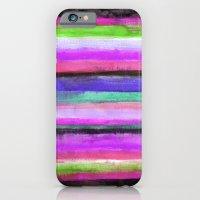 Watercolour Stripe iPhone 6 Slim Case