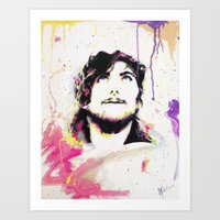Portait of Anthony Green Art Print