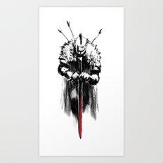 Dark Souls Art Print