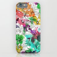 iPhone & iPod Case featuring Flowers.. by Vicky Ink.