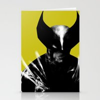 Logan the X-Man Stationery Cards