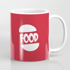 FOOD logo fun generic food logo Mug
