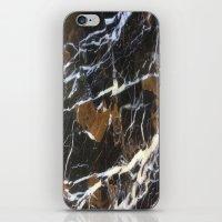 Stylish Polished Black M… iPhone & iPod Skin