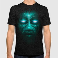 Tribe Mens Fitted Tee Tri-Black SMALL