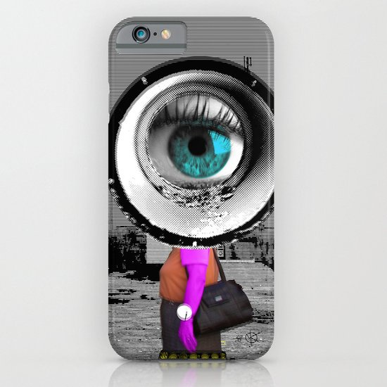 Unreal visitor in illusion city iPhone & iPod Case