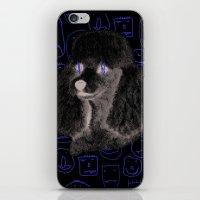 Poodle Print iPhone & iPod Skin