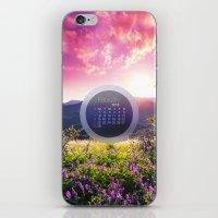 FEBRUARY CALENDAR  2 iPhone & iPod Skin
