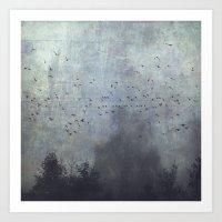 fantasmas Art Print