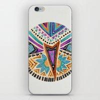 Tribal Folk Icon iPhone & iPod Skin