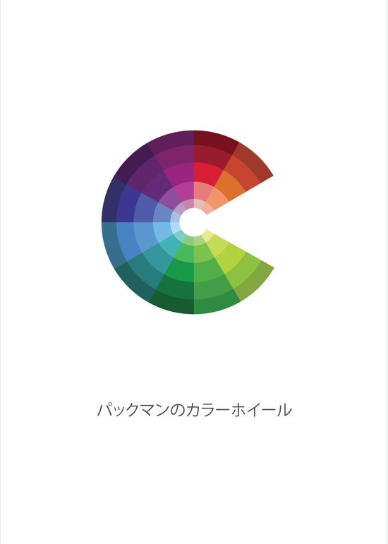 8-Bit Color Wheel Art Print