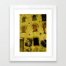 Urban Gold  Framed Art Print