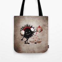 Evil Bug Gives Christmas… Tote Bag