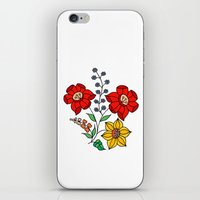 Hungarian placement print - white iPhone & iPod Skin