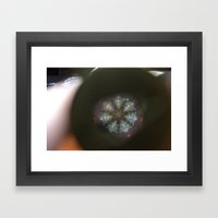 A View Inside Framed Art Print