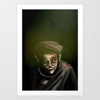 I will not give up, ever. Art Print