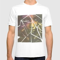 Shatter Mens Fitted Tee White SMALL