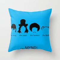 Timeless ICONS Throw Pillow