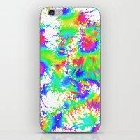 Groovy Splash iPhone & iPod Skin