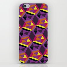 Chasing purple iPhone & iPod Skin