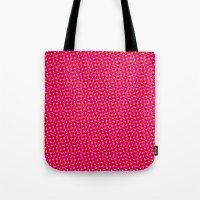 PINK DOT & STAR  Tote Bag