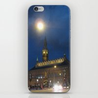 Lights In The Night iPhone & iPod Skin
