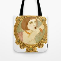 Smoked Fish (Anniestration Logo) Tote Bag
